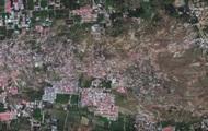 Спутник снял видео момента разрушения в Индонезии