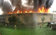 Девушка разозлилась на бойфренда и сожгла многоквартирный дом