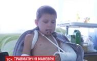 В Житомирской области шлагбаум травмировал школьника