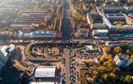 Готовящий к сносу Шулявский мост показали с воздуха