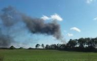 На военной базе в Бельгии сгорел истребитель, есть пострадавшие