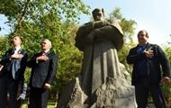 В Армении открыли первый памятник Шевченко