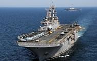 В Катар прибыл десантный корабль ВМС США