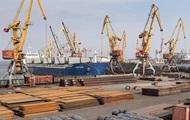 Грузооборот в морских портах Украины снизился