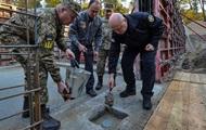 Турчинов заклав капсулу на будівництві штаб-квартири зовнішньої розвідки