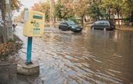 В Киеве улицу на Теремках залило кипятком