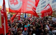 В Хорватии протестуют против повышения пенсионного возраста