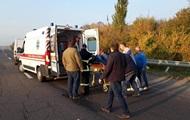 У Черкаській області автобус із дітьми потрапив у ДТП