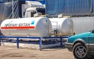 На украинских АЗС продолжает дорожать автогаз