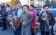 В Житомире прощались с Мариной Поплавской