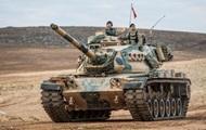 Турецкая армия обстреляла позиции курдов на севере Сирии