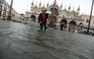 На Италию обрушилась непогода: 75% Венеции - под водой