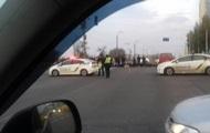 На левом берегу Киева пробки из-за акции протеста