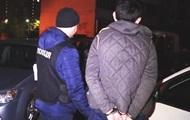 В Киеве квартирные воры наехали на полицейских и протаранили десять авто