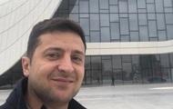 Зеленский показал на видео подкаченный пресс