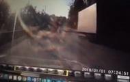 В сети опубликовали видео ДТП с нардепом Лещенко