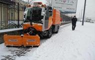 На борьбу со снегопадом в Киеве вывели почти 300 единиц техники - КГГА