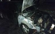 В Шостке у депутата сгорел автомобиль