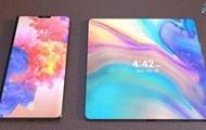 Гибкий экран: новый смартфон Huawei на фото