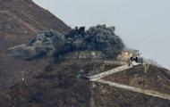 КНДР підірвала 10 постів на кордоні з Південною Кореєю