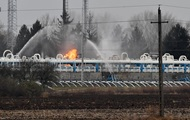 В Угорщині сталася пожежа на великому газосховищі