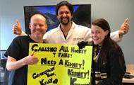 Болельщица нашла донора почки на хоккейном матче