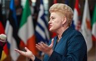 Порошенко анонсировал визит в Украину президента Литвы