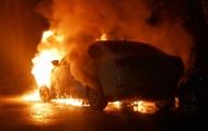СМИ: В Киеве сгорело авто на российских дипномерах