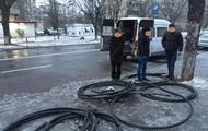 В Киеве украли кабель правительственной связи