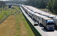 На границе с Польшей увеличились очереди