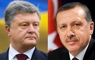 Конфликт на Азове: Порошенко поговорил с Эрдоганом по телефону