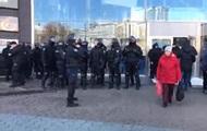 Протест в ТРЦ Ocean Plaza: есть задержанные