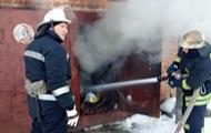 В Белой Церкви при пожаре в гараже погибли два человека