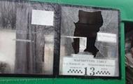 В Бердянске у автобуса на ходу вылетело стекло