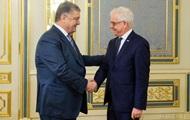 Порошенко и глава МИД Польши провели переговоры