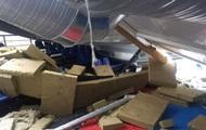 Обвал крыши школы в Вишневом: задержали троих