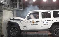 Jeep Wrangler і Fiat Panda провалили краш-тест