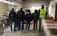 В Польше нашли подпольную табачную фабрику с персоналом из Украины