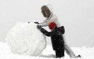 В некоторых регионах Украины выпало до 33 см снега