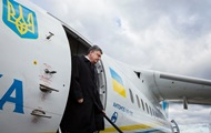 Літак Порошенка везе військовий вантаж від НАТО