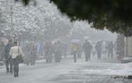 На выходных часть Украины продолжит засыпать снегом