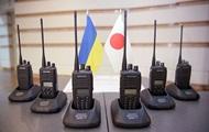 Полиция Украины получила от Японии раций на полмиллиона долларов