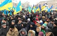На Софийскую площадь в Киеве сходятся тысячи людей