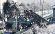 Опубликовано видео столкновения поездов в Турции