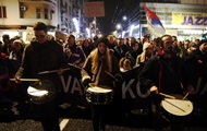 В Сербии прошли многотысячные протесты против президента Вучича