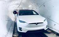 Маск открыл подземный тоннель в Лос-Анджелесе