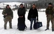 В горах Львовской области задержали французов с контрабандой