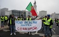 """В Португалии произошли потасовки """"желтых жилетов"""" с полицией"""