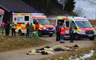 При столкновении повозок в Германии пострадали 20 человек