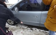 В Киеве угонщики авто устроили драку с патрульными